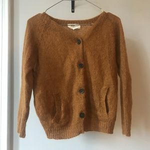 Isabel Marant wool cardigan with elbow patches
